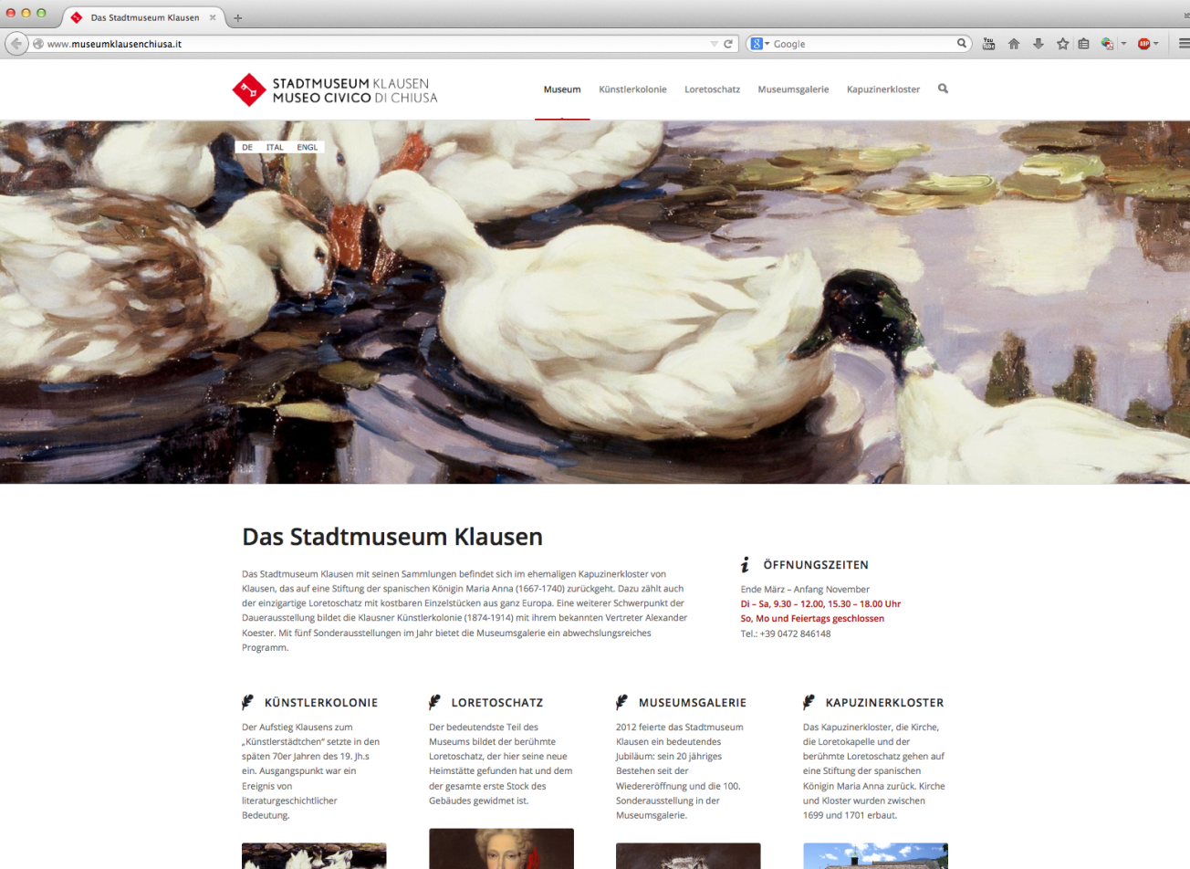 www.museumklausenchiusa.it